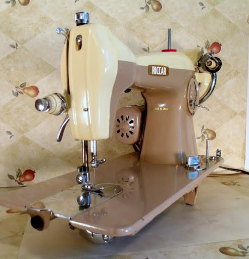 vintage riccar sewing machine