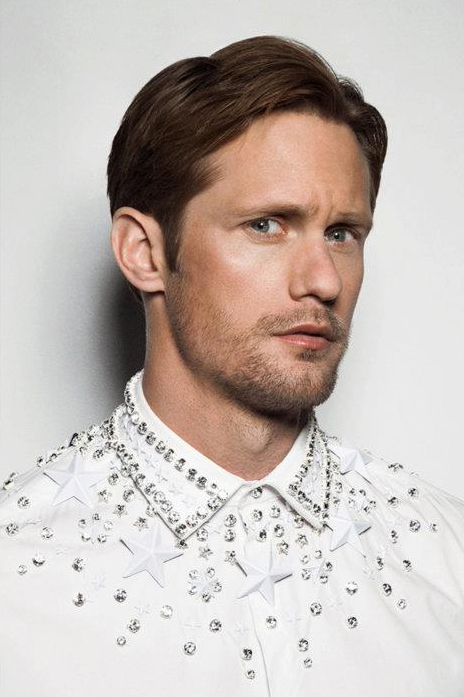 Alexander Skarsgård by Tim Barber for Bullett mag, Summer 2012.  Styled by Melissa Rubini.