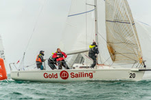 J/80 Spanish team- Gold Sailing- past World's champions