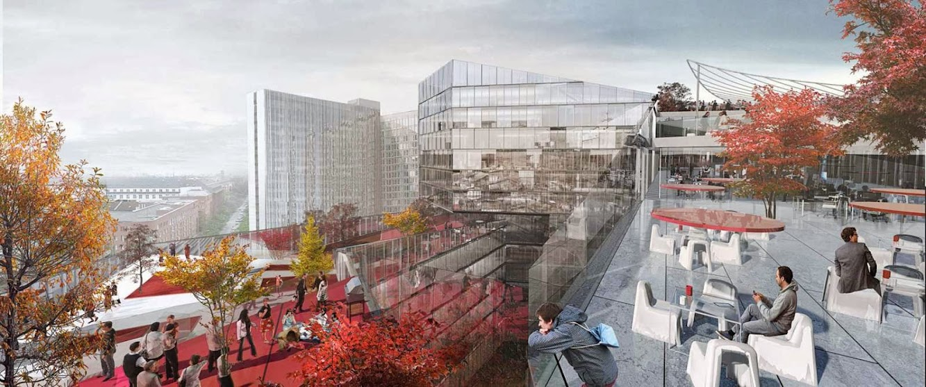 New Media Campus for Axel Springer by Big