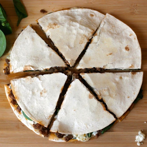 Beef & Blue Cheese Quesadillas