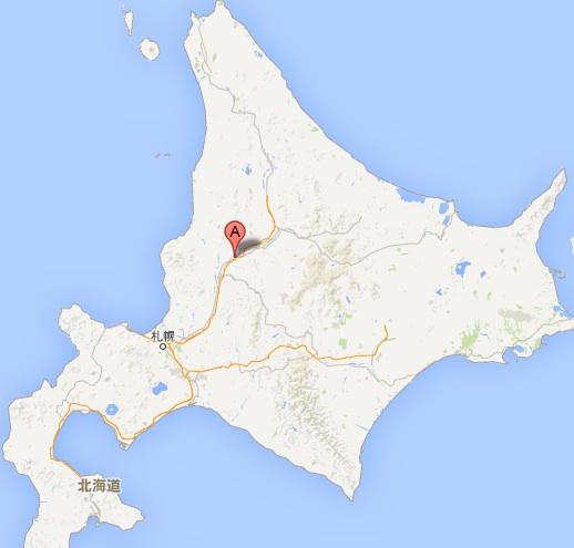 レストラン・空音・地図
