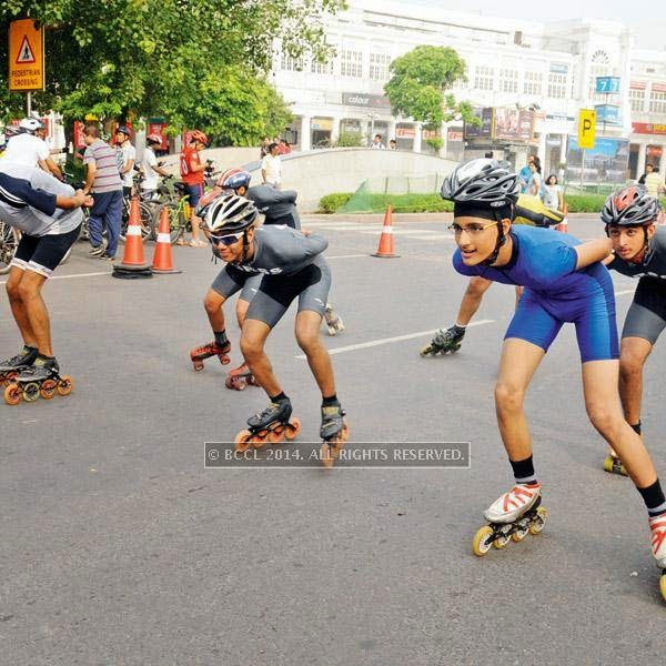 Apart from the music and dancing, the TOI-backed initiative, in partnership with the Delhi Police, the NDMC and Embarq India, saw many skating groups from across Delhi taking part in the event. Children from various schools across Delhi-NCR were excited to skate in CP .