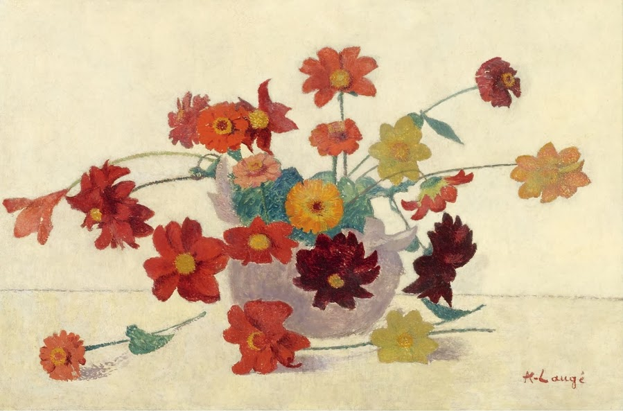 Achille Laugé - Bouquet of Flowers, 1902-07