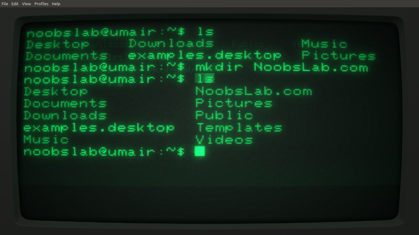 Cool-Retro-Term is a great Mimic of old Command Lines