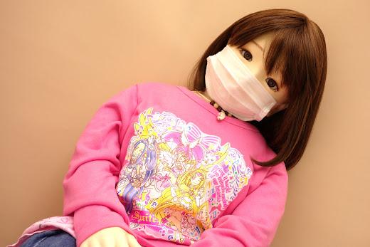 ララドール雛withマスク