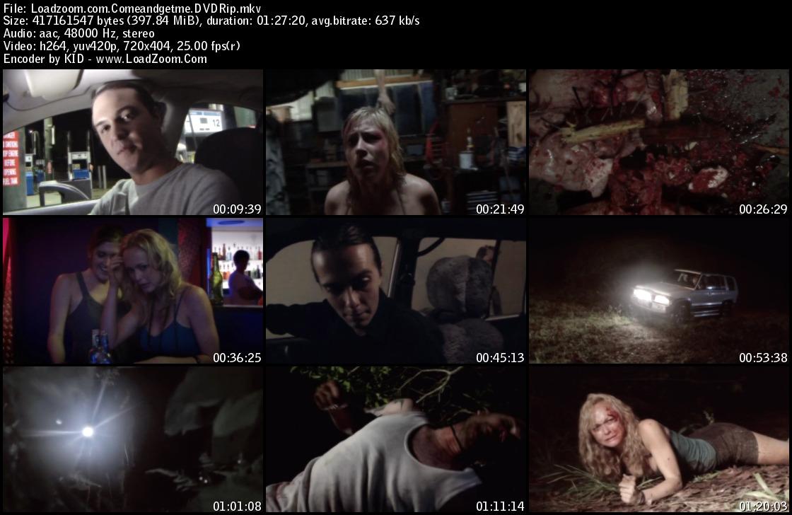 movie screenshot of Come and Get Me fdmovie.com