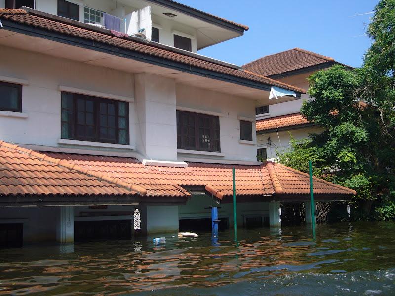 Flooded Home near Bangkok