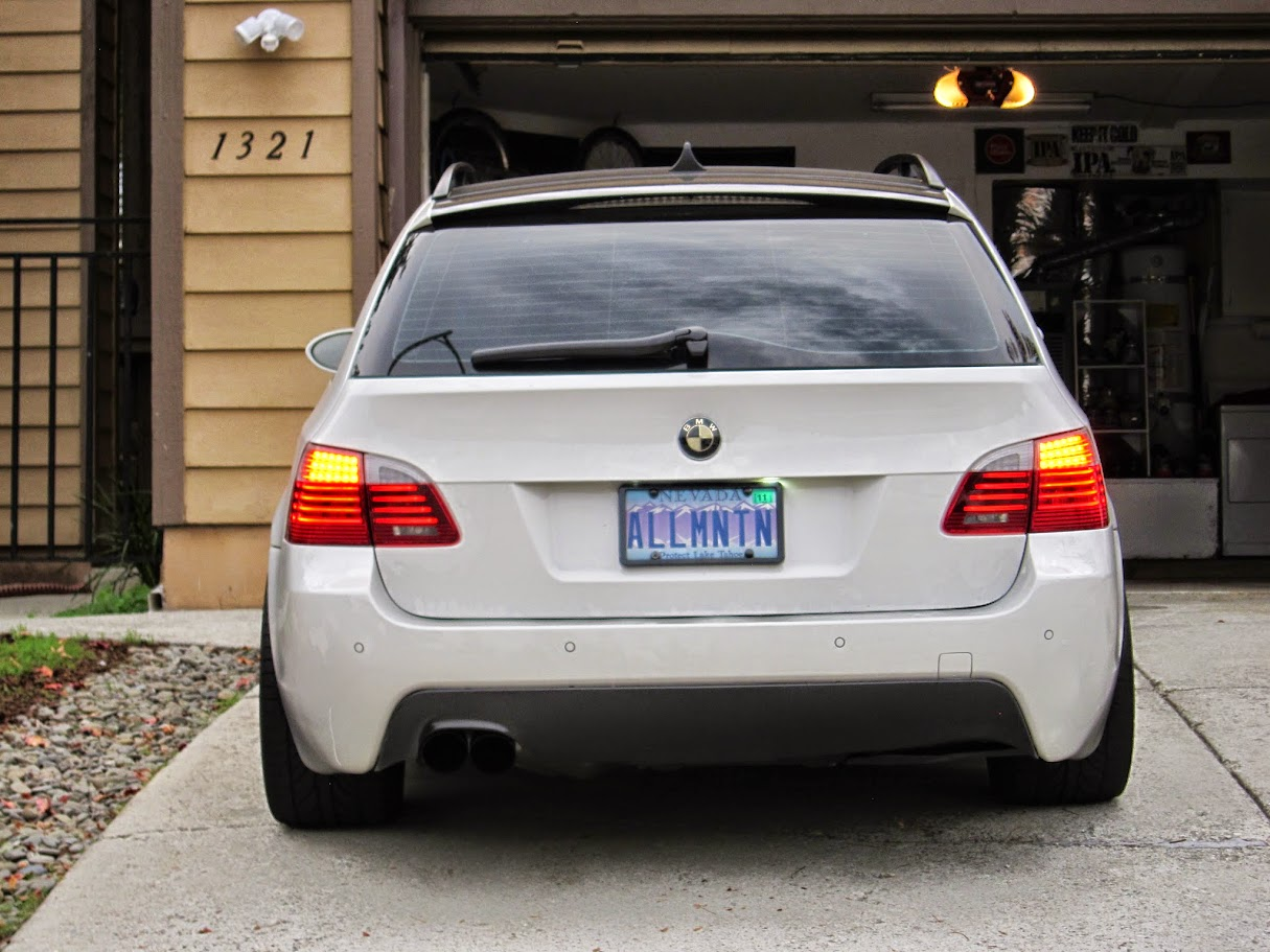 My Custom E61 Tail Lights - BMW M5 Forum and M6 Forums