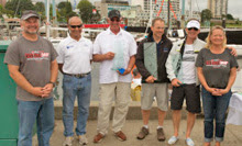 J/109 DIVA- winners of Van Isle 360 race off Vancouver Island
