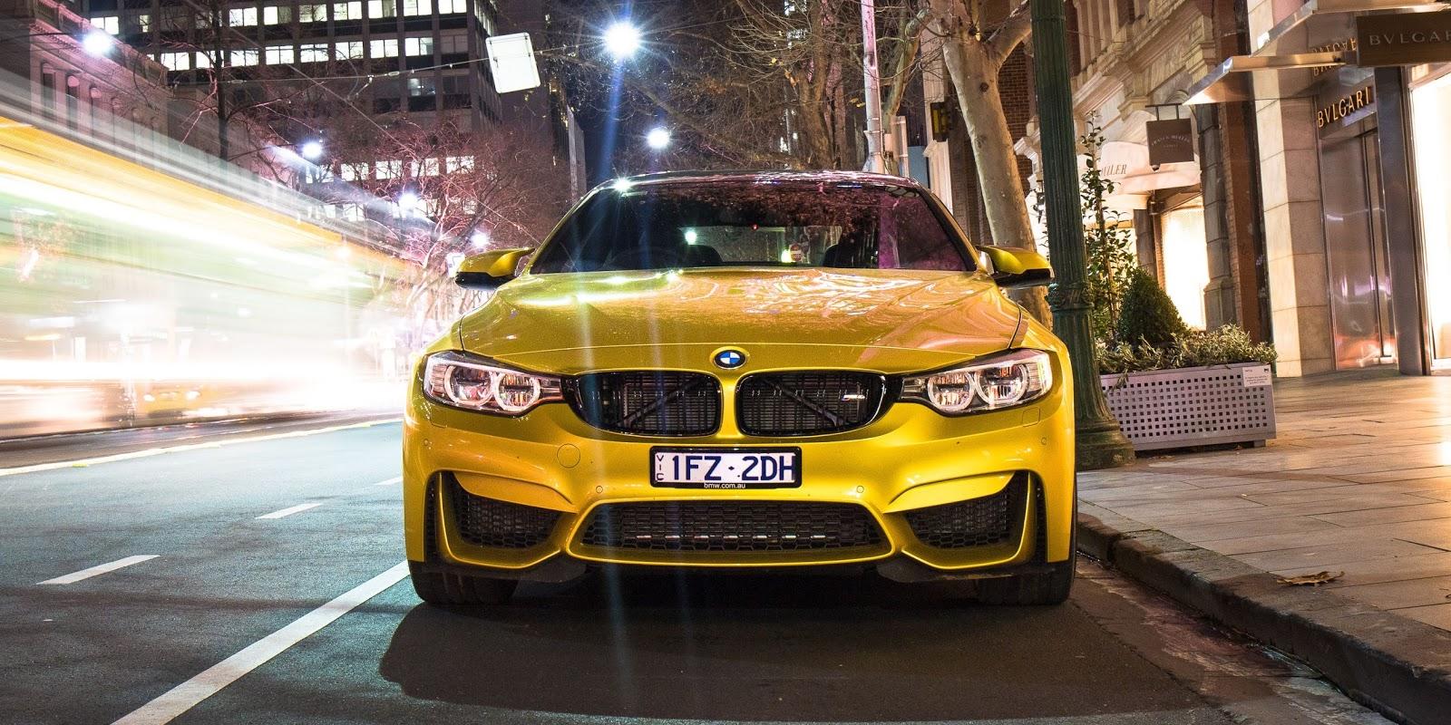 Đầu xe đậm chất BMW, tuy nhiên hốc gió lại đậm chất đua