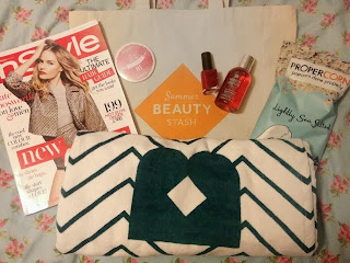 birchbox instyle goodie goody bag tote magazine beauty