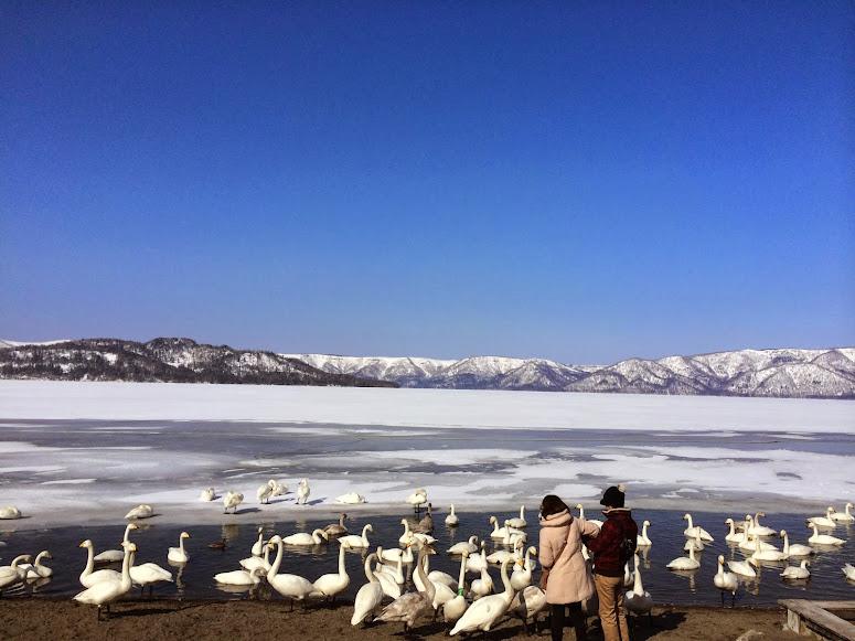 屈斜路湖.砂湯
