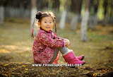Chinese Kids in Sunshine Photo