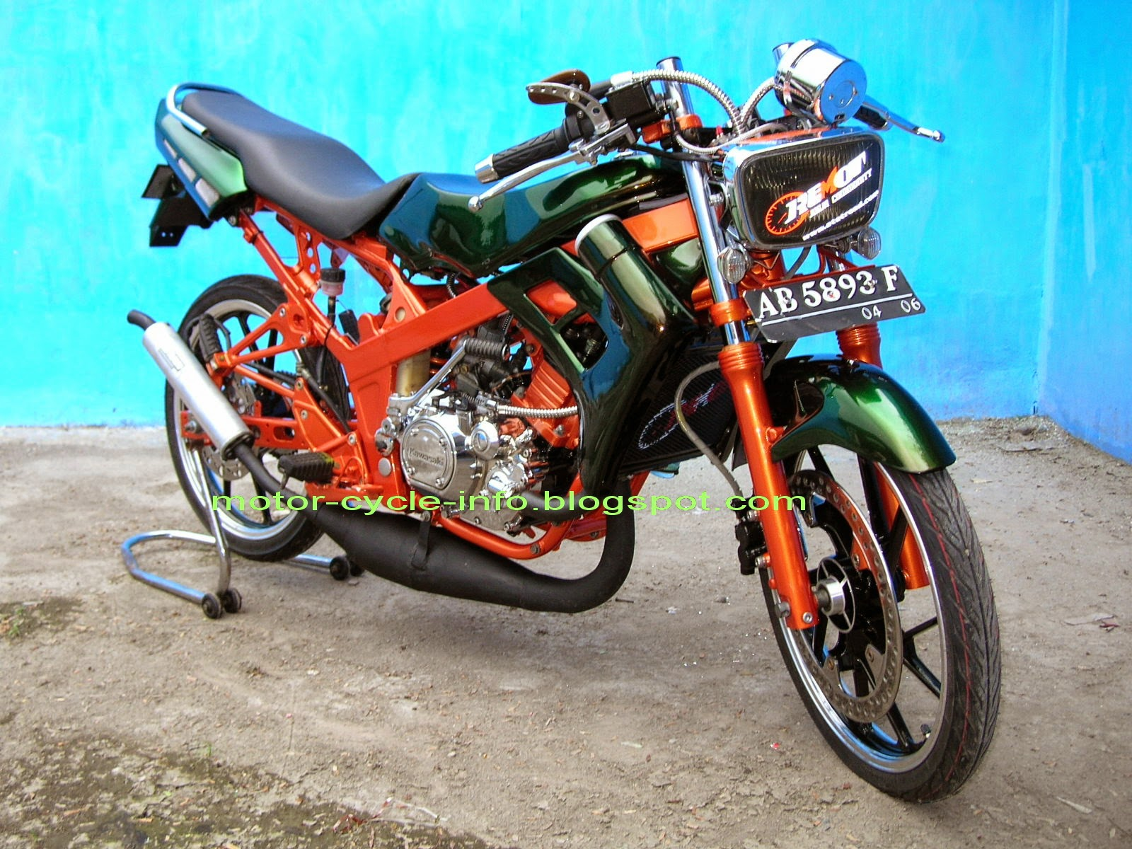 Gl Max Modifikasi Supermoto