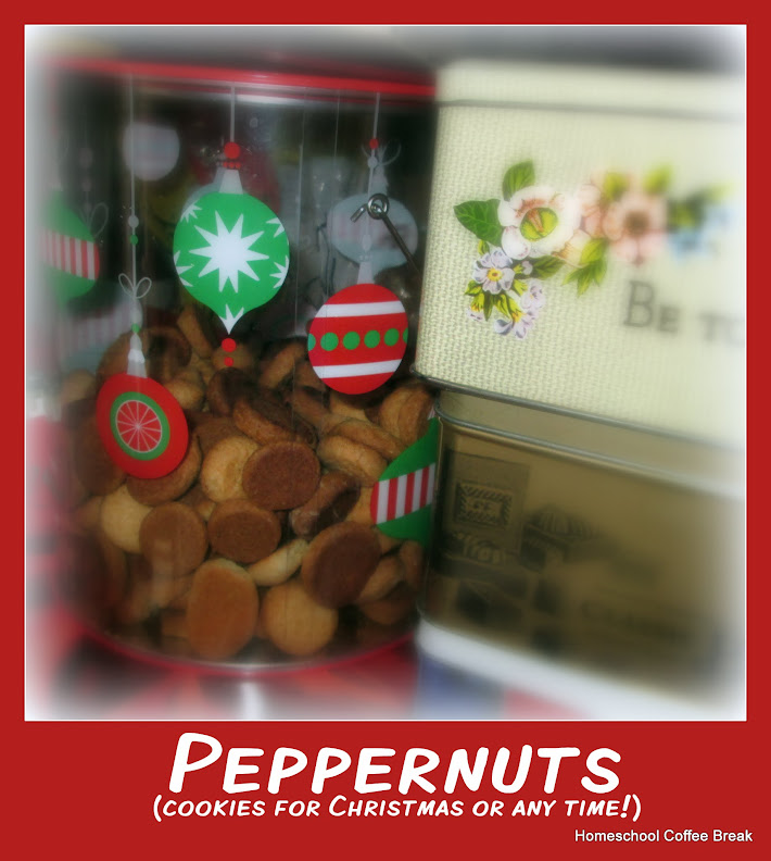 Peppernuts and other Holiday Sweets and Treats on Homeschool Coffee Break @ kympossibleblog.blogspot.com - A collection of some of our favorite recipes for holiday cookies and other seasonal sweet treats!
