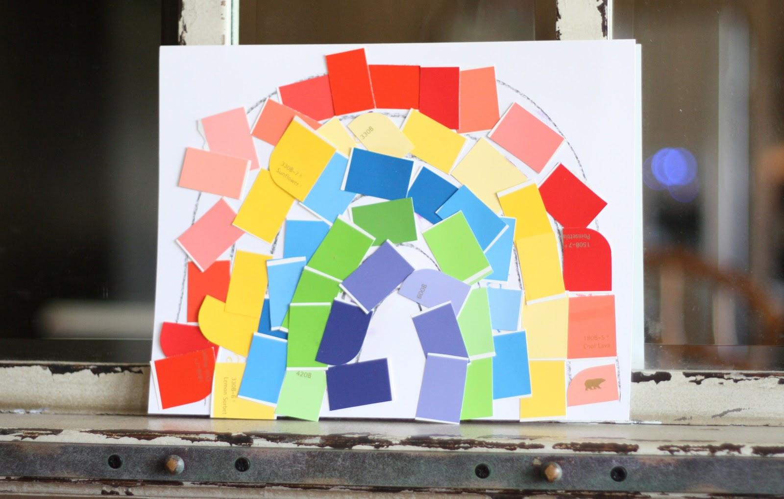 Rainbow Mosaic - I Can Teach My Child!