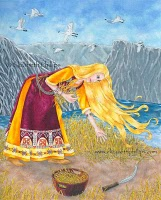 Sif Norse Goddess Of Fertility Image