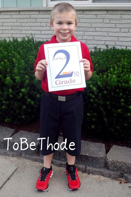 second grade day