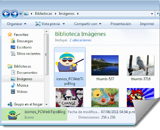 cambiar windows 7