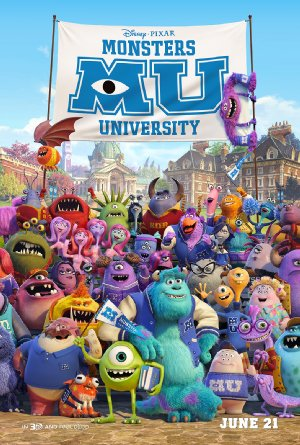 Picture Poster Wallpapers Monsters University (2013) Full Movies