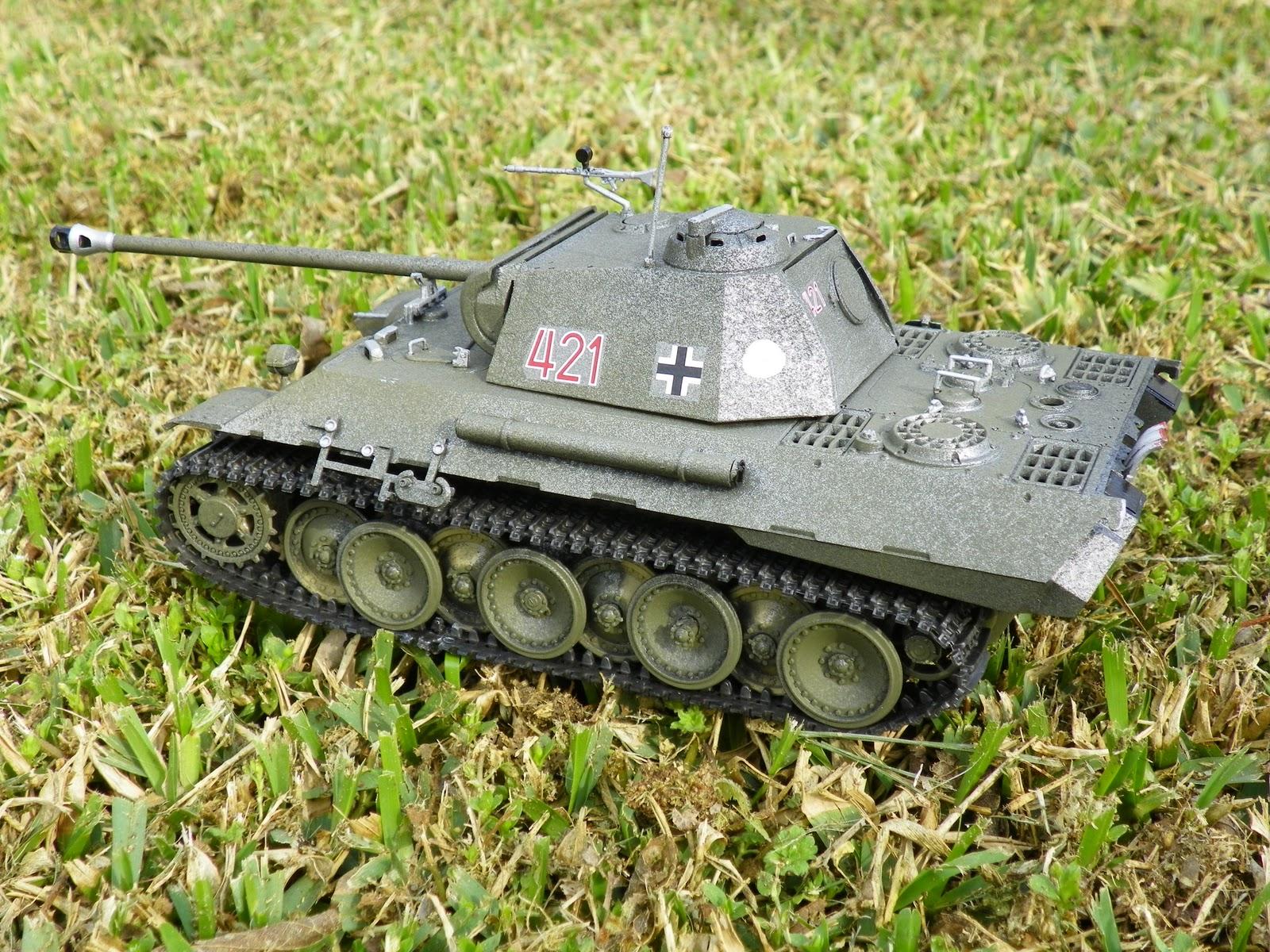 Underdog's Utterings: World War II German Mark V Panther Tank