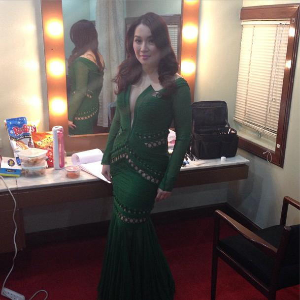 "Kris Aquino at the ""38th Metro Manila Film Festival awards night"