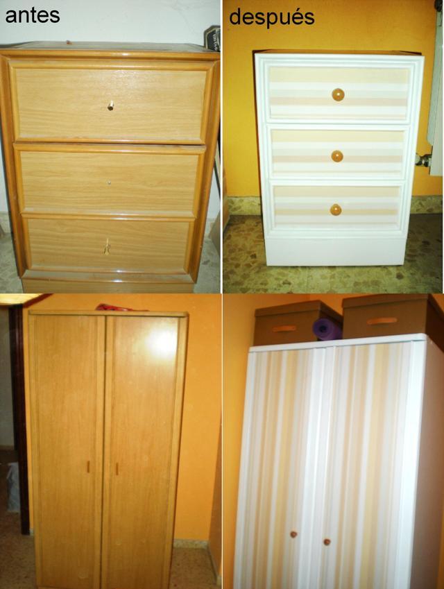 Lacar muebles de melamina stunning excellent interesting - Pintar armario melamina ...