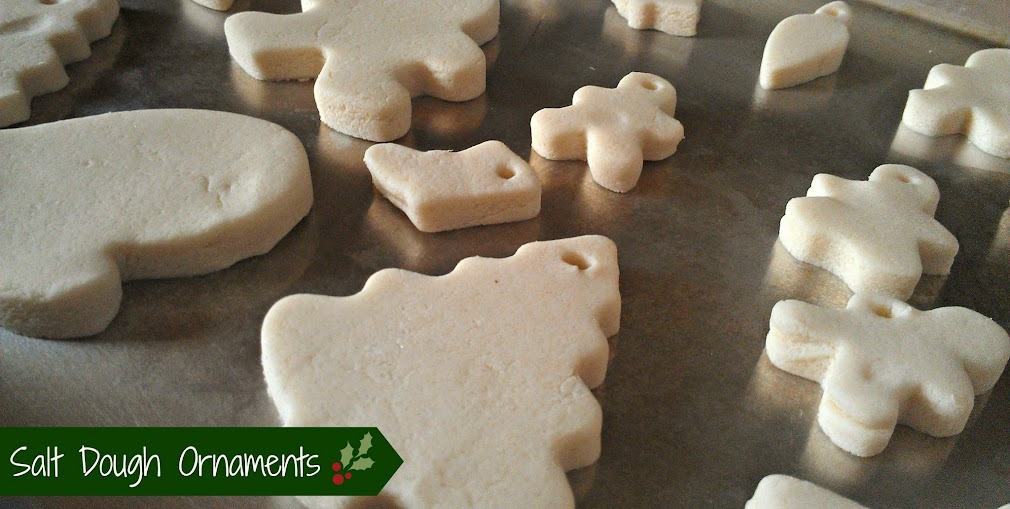 Crafts with Kids: Salt Dough Ornaments #CIJ13