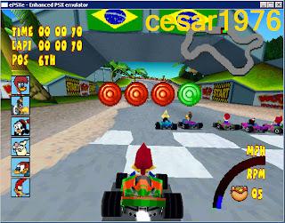 Woody Woodpecker Racing [Ntsc][PlayStation One] por cesar1976 Unica