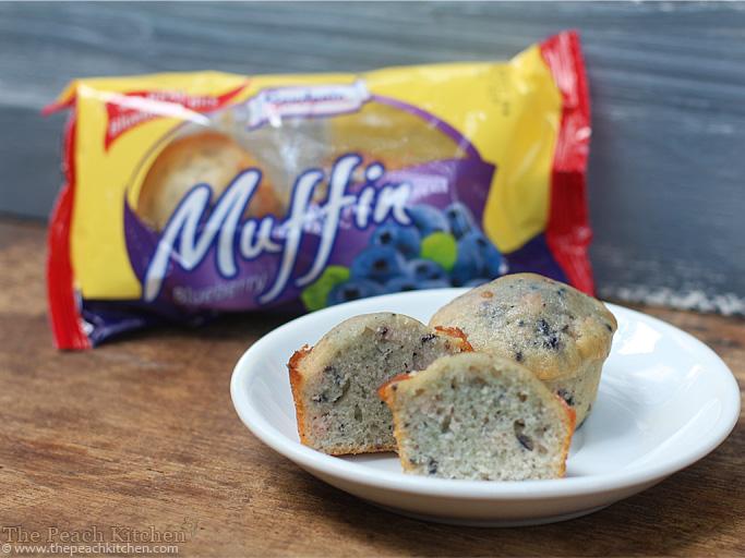 Gardenia Blueberry Muffins | wwww.thepeachkitchen.com