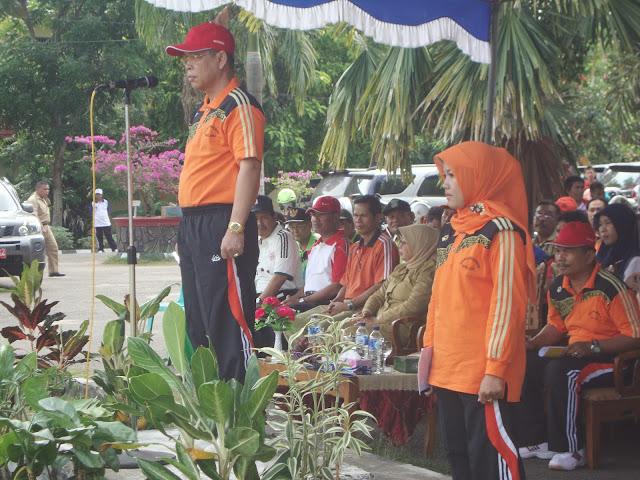 Pembukaan POPDA (Pekan Olahraga Pelajar Daerah) 2013 Kab. OKI - Sumatera Selatan