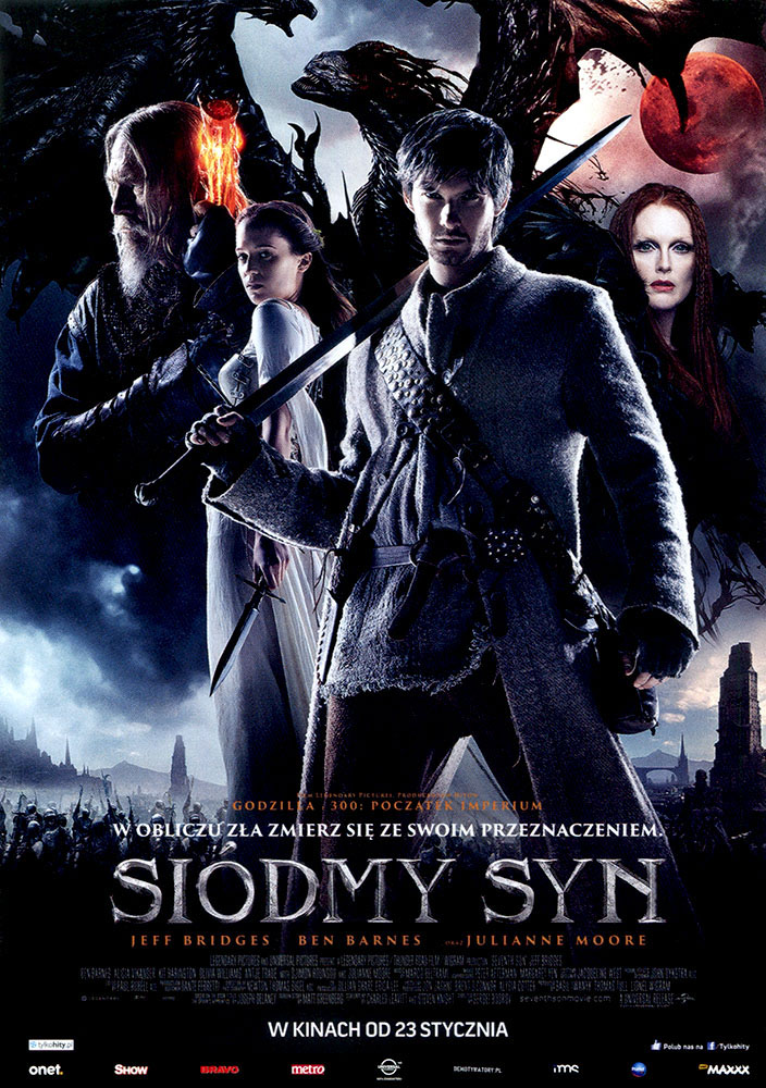 Ulotka filmu 'Siódmy Syn (przód)'