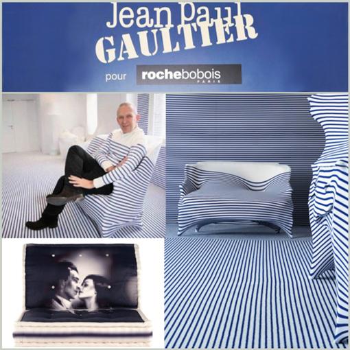 JEAN PAUL GAULTIER - ROCHE BOBOIS