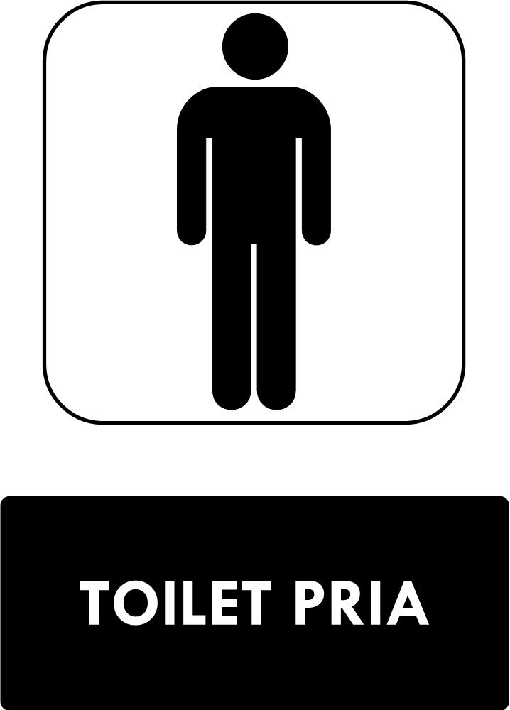 Rambu Toilet Pria