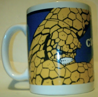 Left side of Thing Mug 1994
