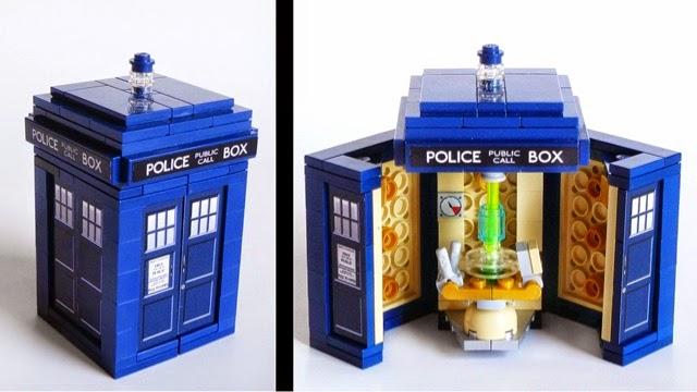 Never Too Old Lego Tardis