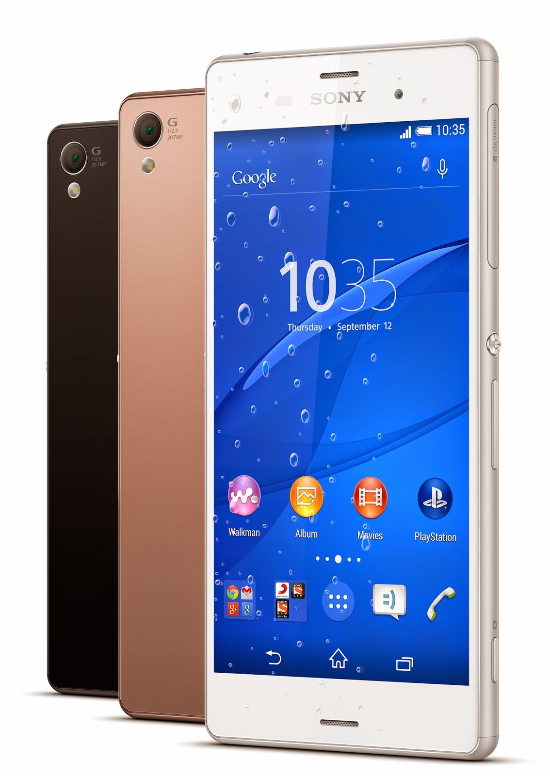 Sony Xperia Z3 - the latest Android phone by Sony