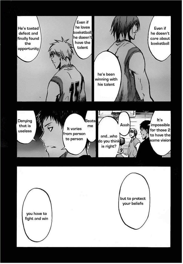 Kuroko no Basket Manga Chapter 158 - Image 07