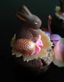 Cupcakes au chocolat de Pâques - recette indexée dans les Desserts