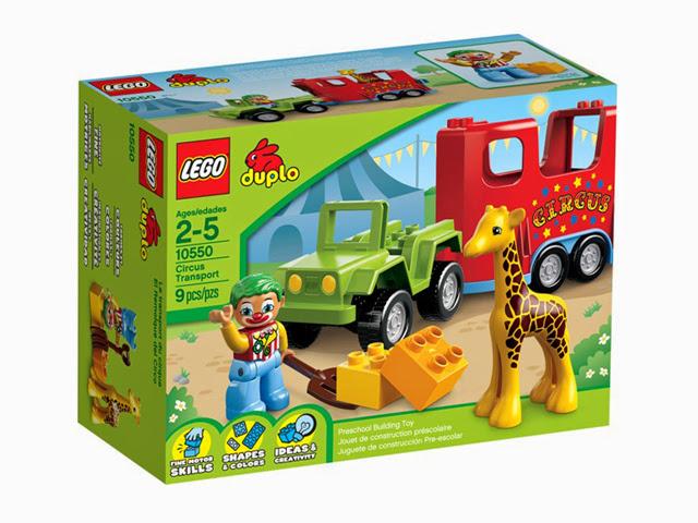 10550 レゴ デュプロ サーカストレイラー