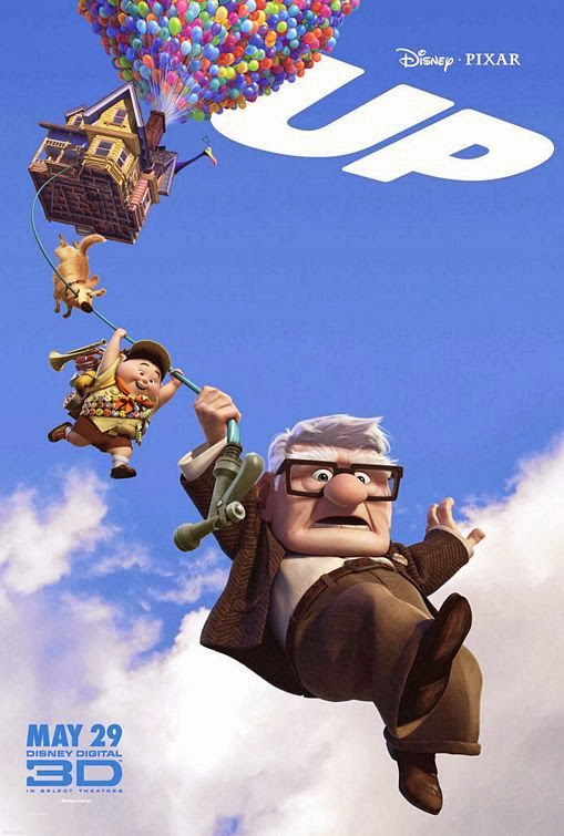 Poster Of Up (2009) Full Movie Hindi Dubbed Free Download Watch Online At Alldownloads4u.Com