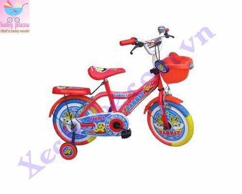 Xe đạp cho bé 14-k10 con thỏ