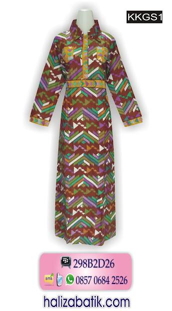 grosir batik pekalongan, model gamis batik, baju batik, model baju muslim