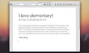 Migliorare il tema di LibreOffice in Phanteon su elementary OS