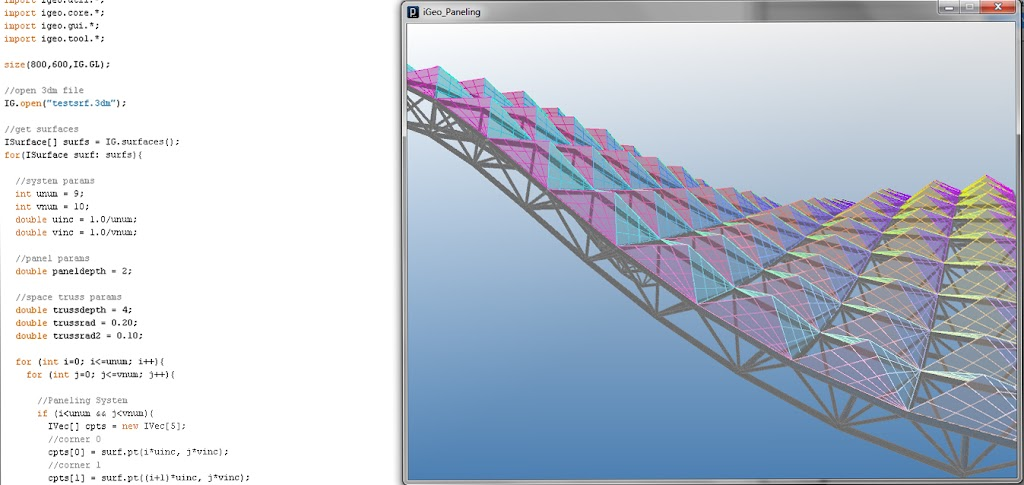 The Proving Ground by Nathan Miller: iGeo: Open Source 3D Software