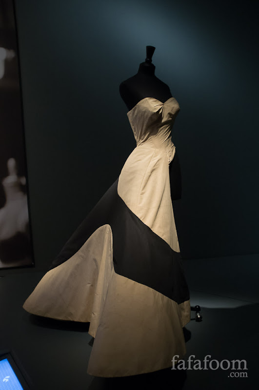 "Charles James, ""Clover Leaf"" ball gown muslin, 1953."