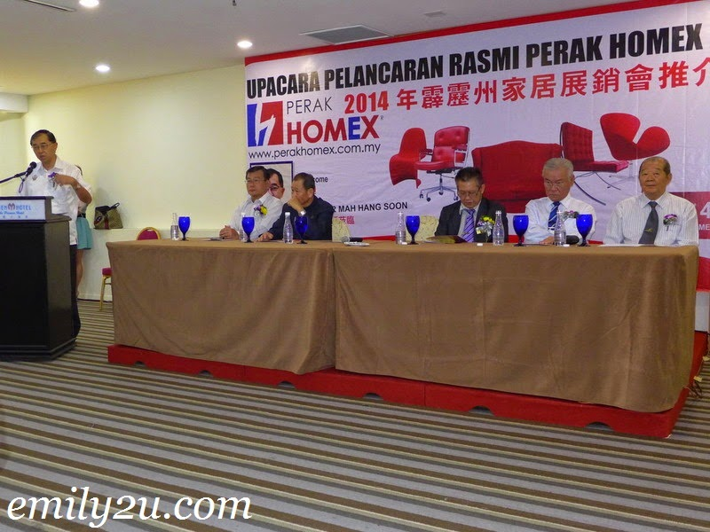Perak HOMEX press conference