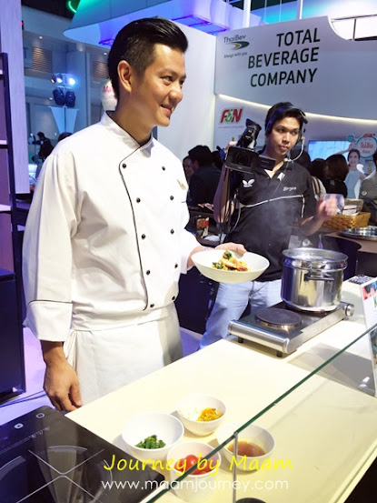 ThaiFex 2015 สิงห์_Food_เชฟอาร์ต