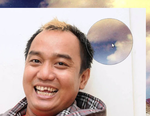 Manipulasi rambut dengan photoshop